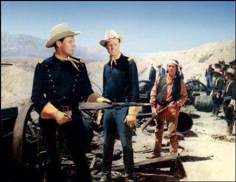 Escape Fort Bravo | W ~ Westerns #Classic # Movie # Actors ...