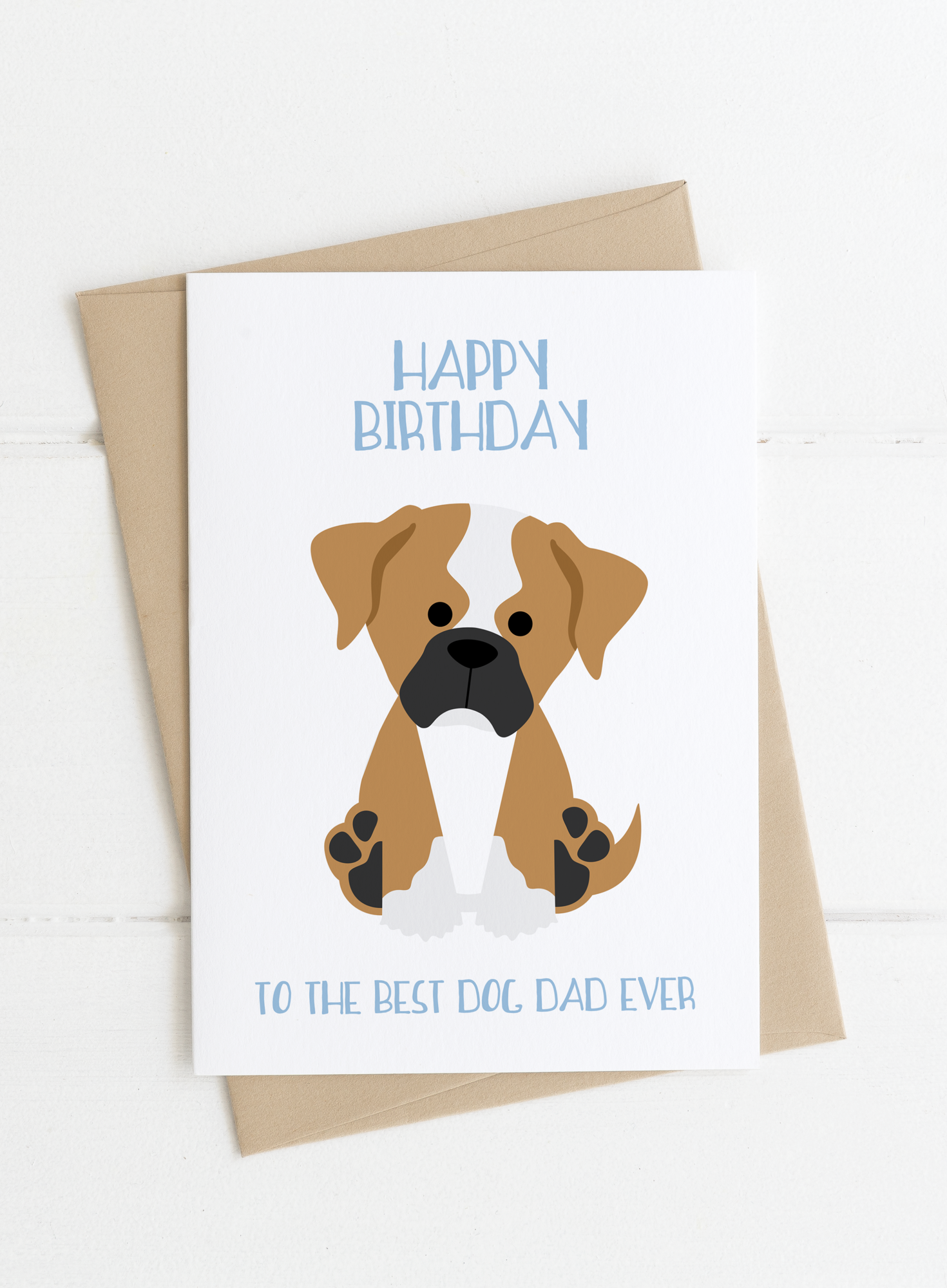 Dog Dad Birthday Card