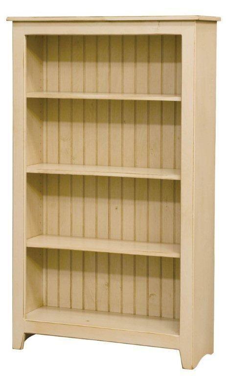 Amish Primitive Pine Bookcase 60 Height Bookcase Pine Bookcase Home Furniture