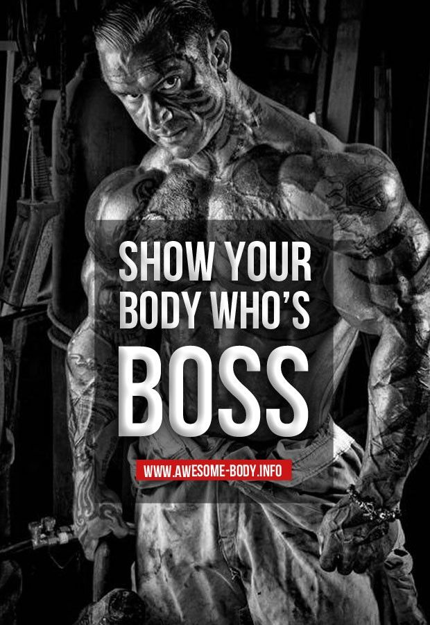 The Mind Must Be In Control  Fit    Bodybuilding