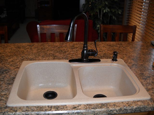 swanstone granite kitchen sink swanstone dual mount composite 33x22x9 1 bowl 5954