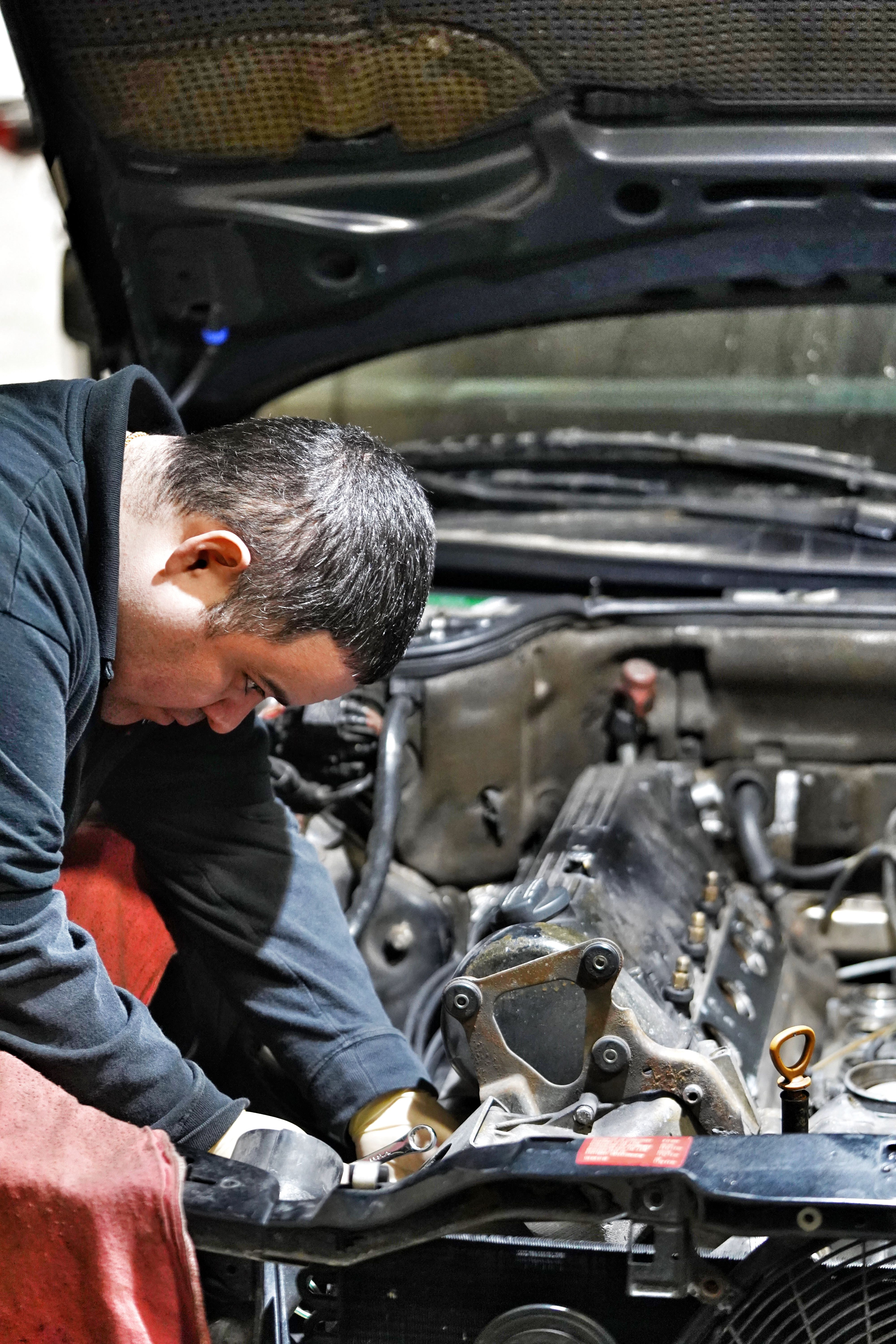 When your car is being repaired it seems like you're on