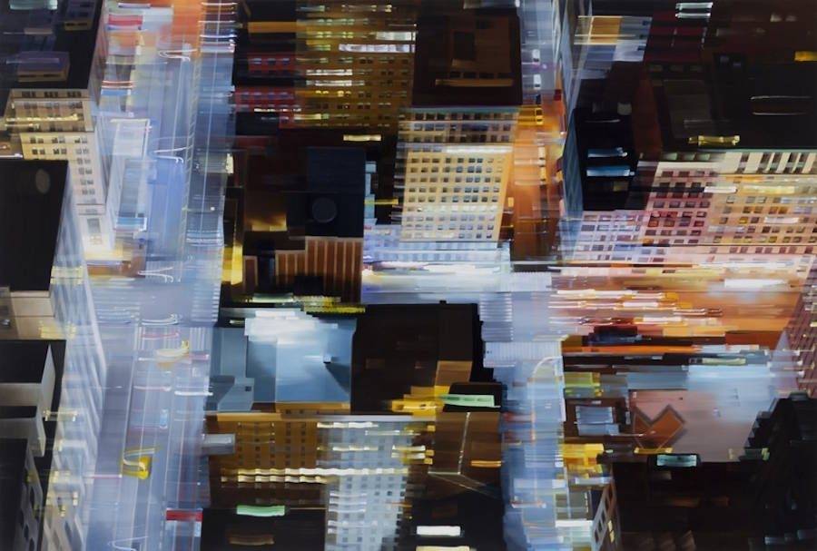 Hyperrealistic Paintings of Urban Nightscapes – Fubiz Media