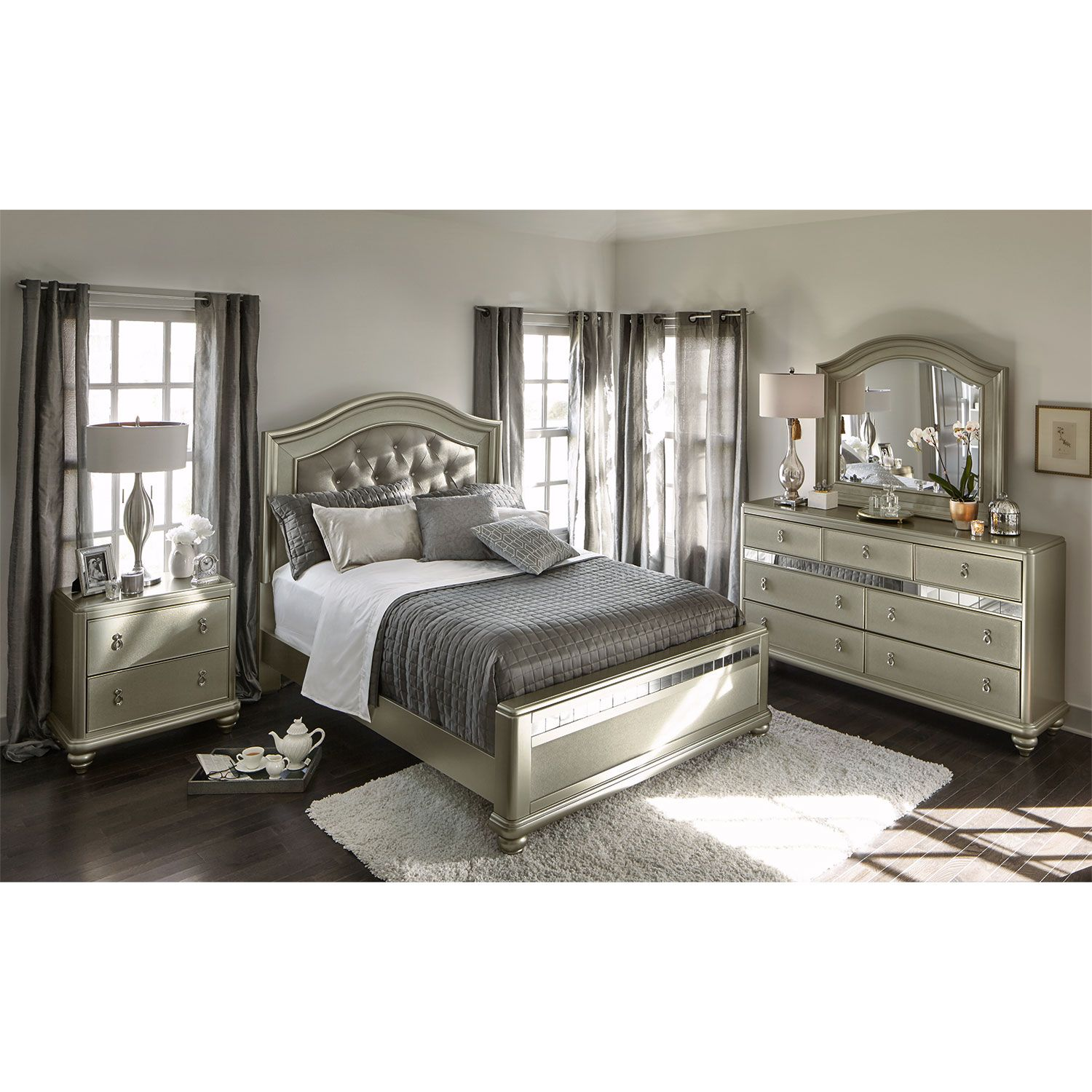 The Serena Bedroom Suite Offers An Air Of Sophistication And Glamour That  Anyone
