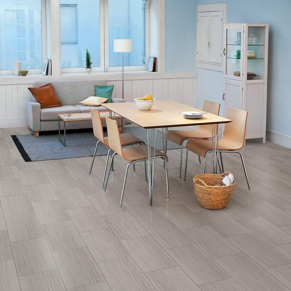 Trafficmaster allure 12 in x 24 in grey stone resilient vinyl trafficmaster allure 12 in x 24 in grey stone resilient vinyl tile flooring dailygadgetfo Image collections