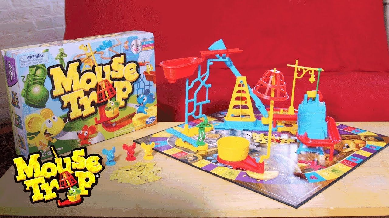 How To Build The Trap In The Mouse Trap Game Hasbro Gaming Mouse Trap Game Mouse Traps Best Mouse Trap