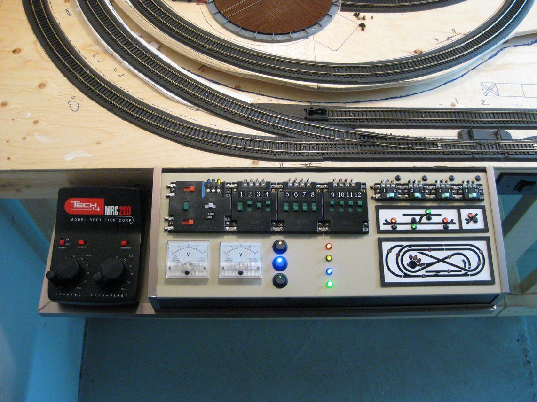 Model train control panel LED | hobby | Model trains ...