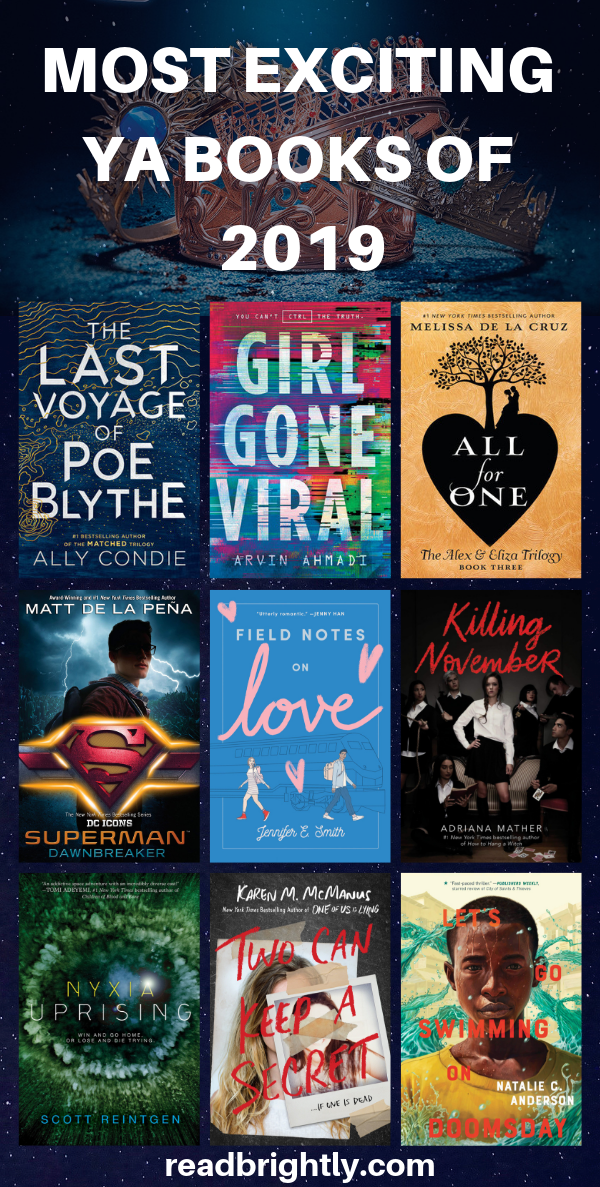 The Most Exciting Young Adult Books Of 2019  Book -3224