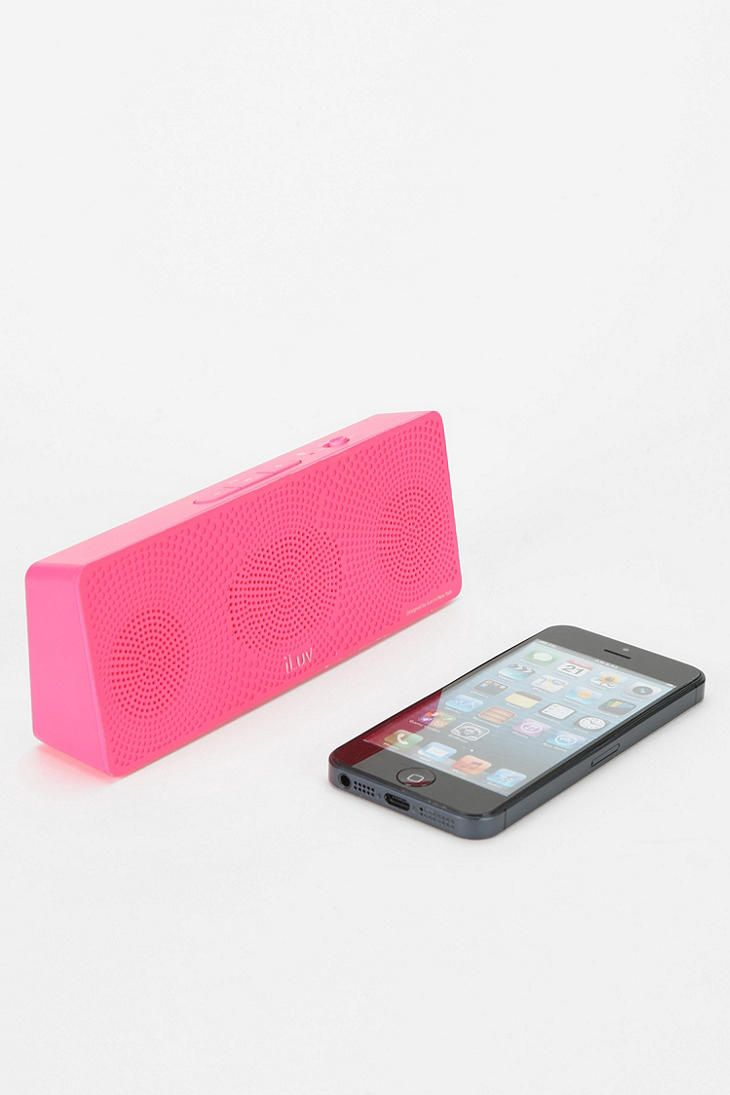 iLuv MobiTour Portable Wireless Speaker - Urban Outfitters