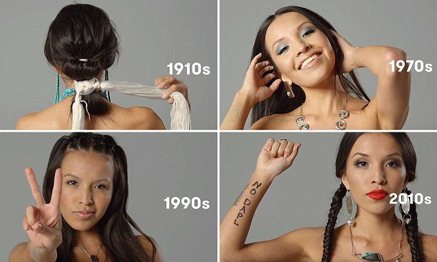 Student Celebrates Her Navajo Roots By Modeling Style And Beauty Looks Beauty Celebrities Bun Hairstyles