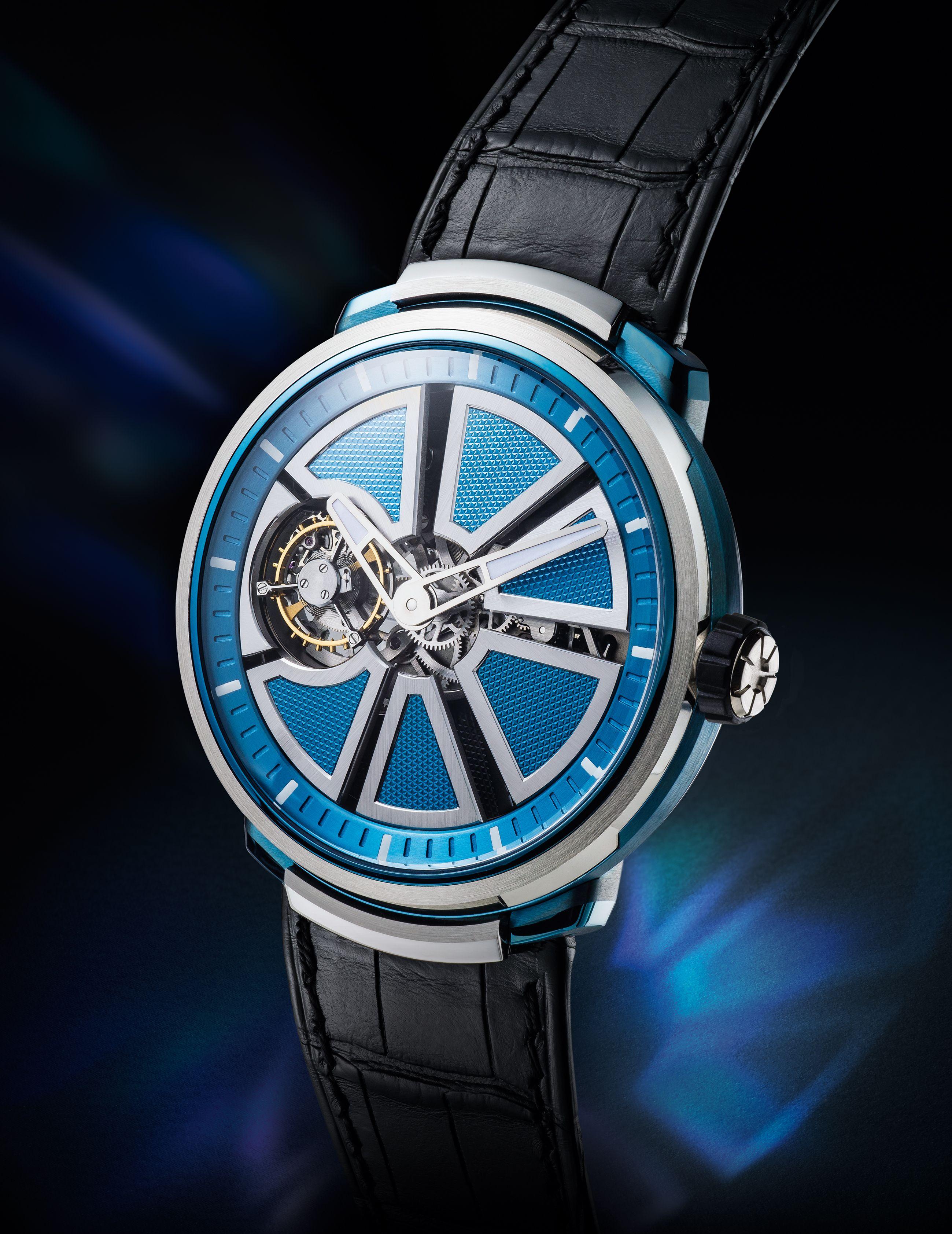 Fabergé Visionnaire Timepiece #Fabergé #watch