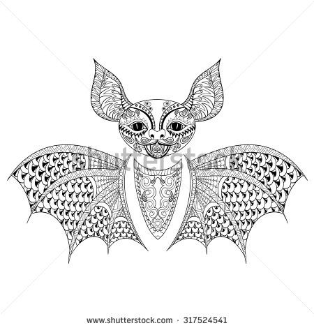 Zentangle Animal Stock Vectors Vector Clip Art Shutterstock