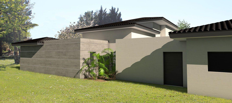 Terrasse couverte en tuile - Mailleraye.fr jardin