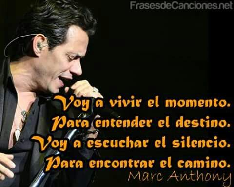 Vivir mi vida- Marc Anthony.