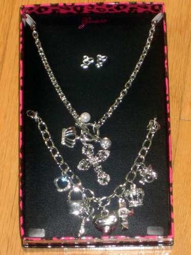 97e978079208 Juego caja set collar pulsera aretes guess regalo stock ...