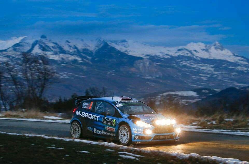 Fiesta WRC on Rally Monte Carlo