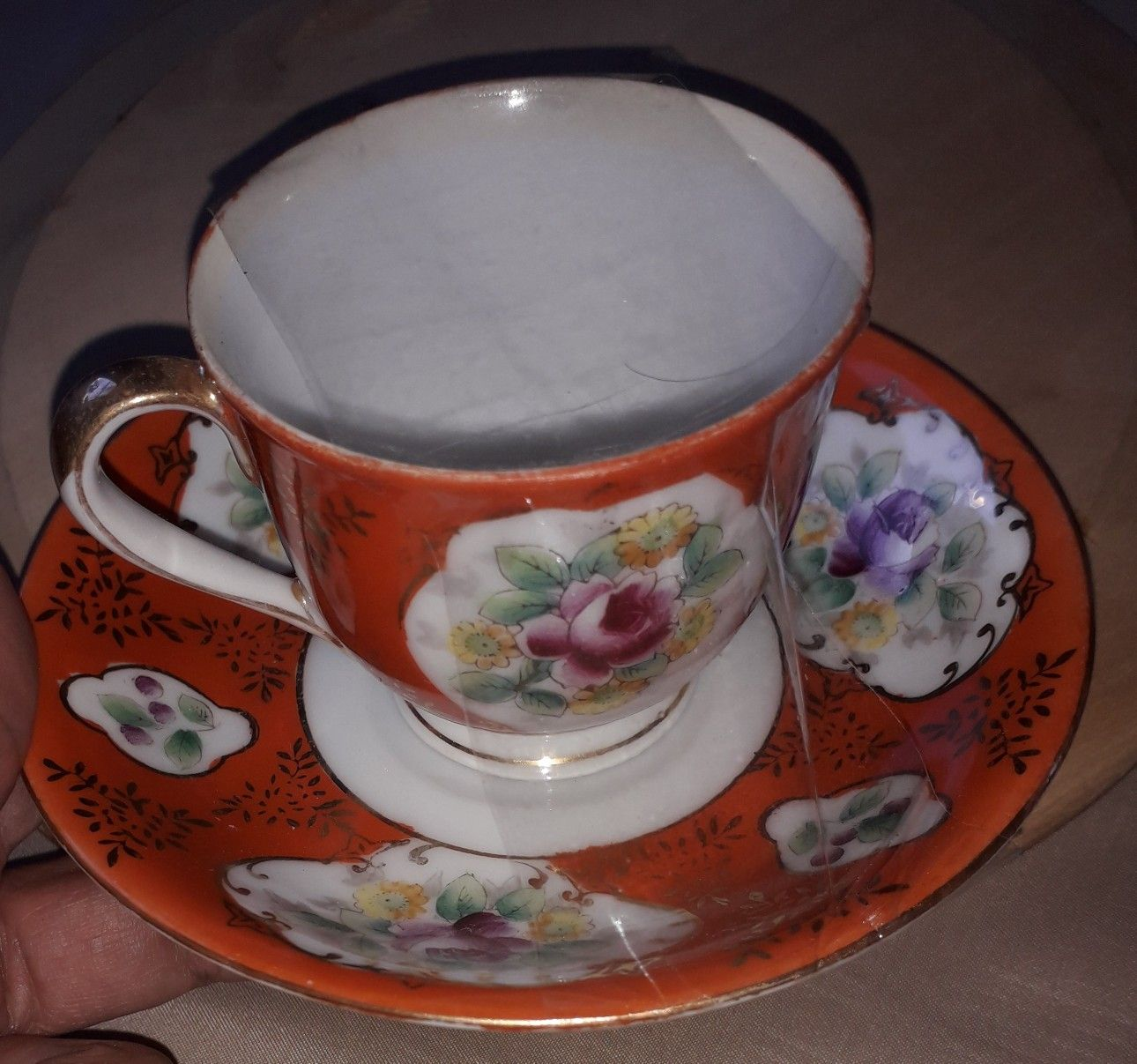 Hand painted Gold China Made in occupied Japan | Chinese and