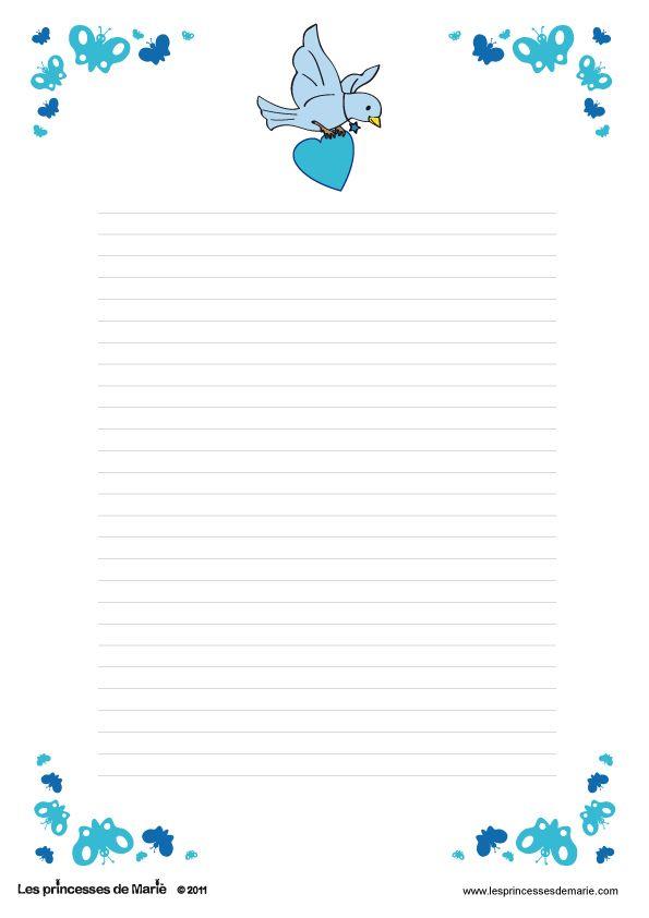 FREE printable writing paper (télécharger u003d download ;) FREE - free printable writing paper
