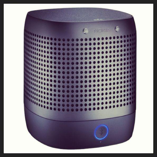 A retrouver dans la boutique #accessoires #Sosh, l'enceinte portable #Nokia MD-50W ! #music #sound #hifi
