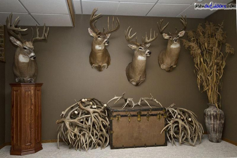 Man Caves Trophy Room Alberta Outdoorsmen Forum Homedecorideas Hunting Decor Living Room Hunting Room Man Cave Hunting Room Decor