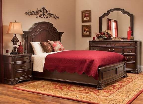 Beckley 4 Pc King Bedroom Set Bedroom Sets Raymour And Flanigan Furniture Bedroom Sets Queen King Bedroom Sets Queen Sized Bedroom Sets
