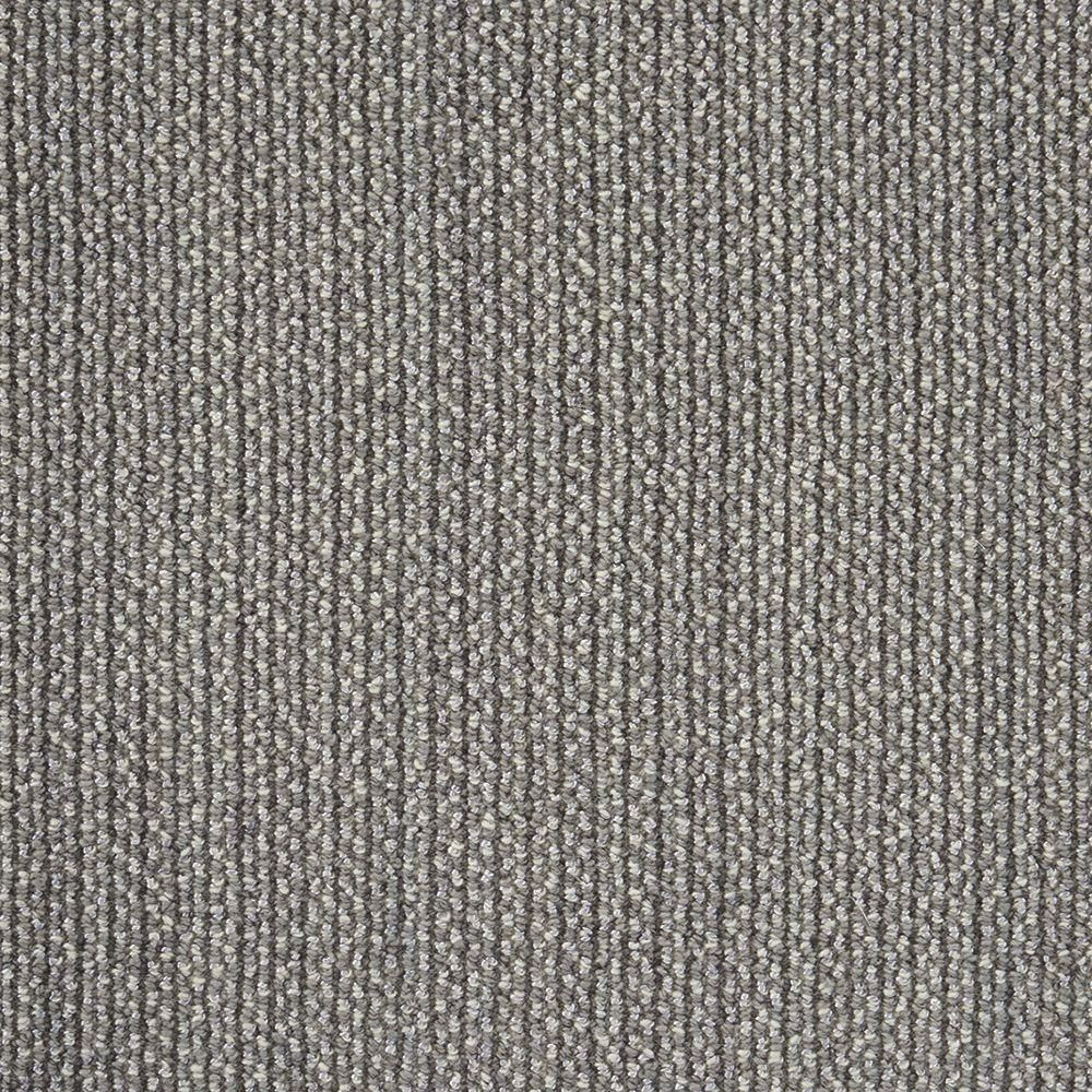 Natural Harmony Panorama Tweed Color Battleship Loop 12 Ft Carpet 327789 Custom Area Rugs Carpet Samples Home Depot Carpet