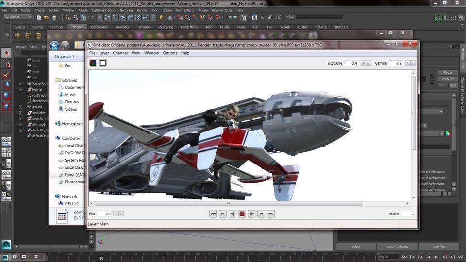 Maya Render Layers Render Passes and PostComputer Graphics - digital editor job description