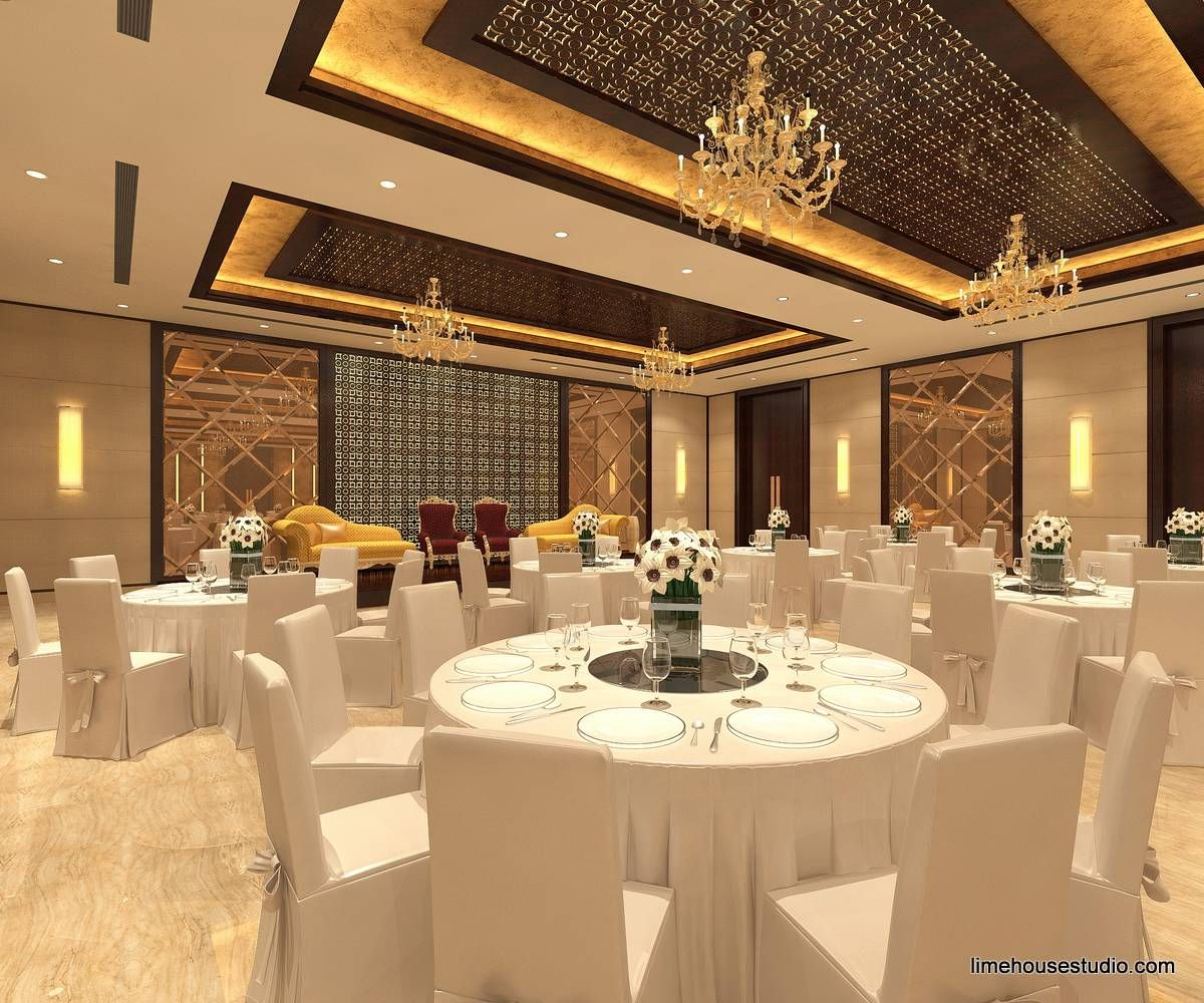 Banquet Hall Interior Designing Projects At Hotel Meenal Residency Kota For Top Banquet Hall Interior Designi With Images Hall Interior Design Hall Interior Banquet Hall