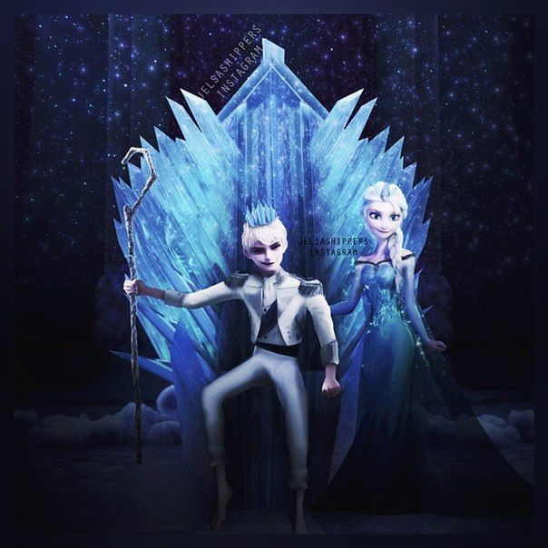 Crossovers King And Queen: King And Queen Of Ice And Snow.