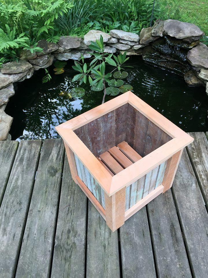 upcycledpalletplanterbox.jpg (720960) Pallet planter