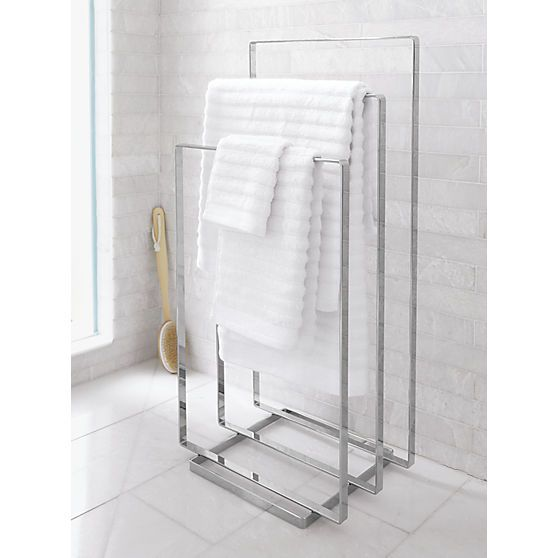 Chrome Towel Rack Reviews Modern Bathroom Accessories Towel