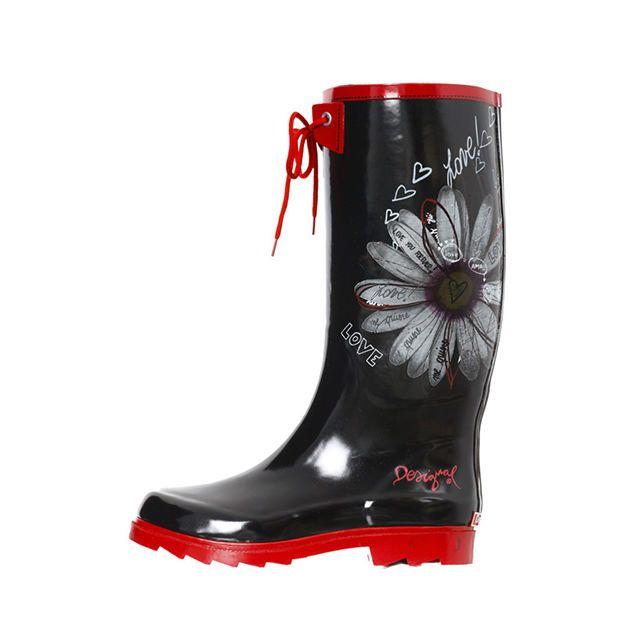 release date: 3a919 5a39f Stivali da pioggia Desigual | App MonChic | Stivali da ...