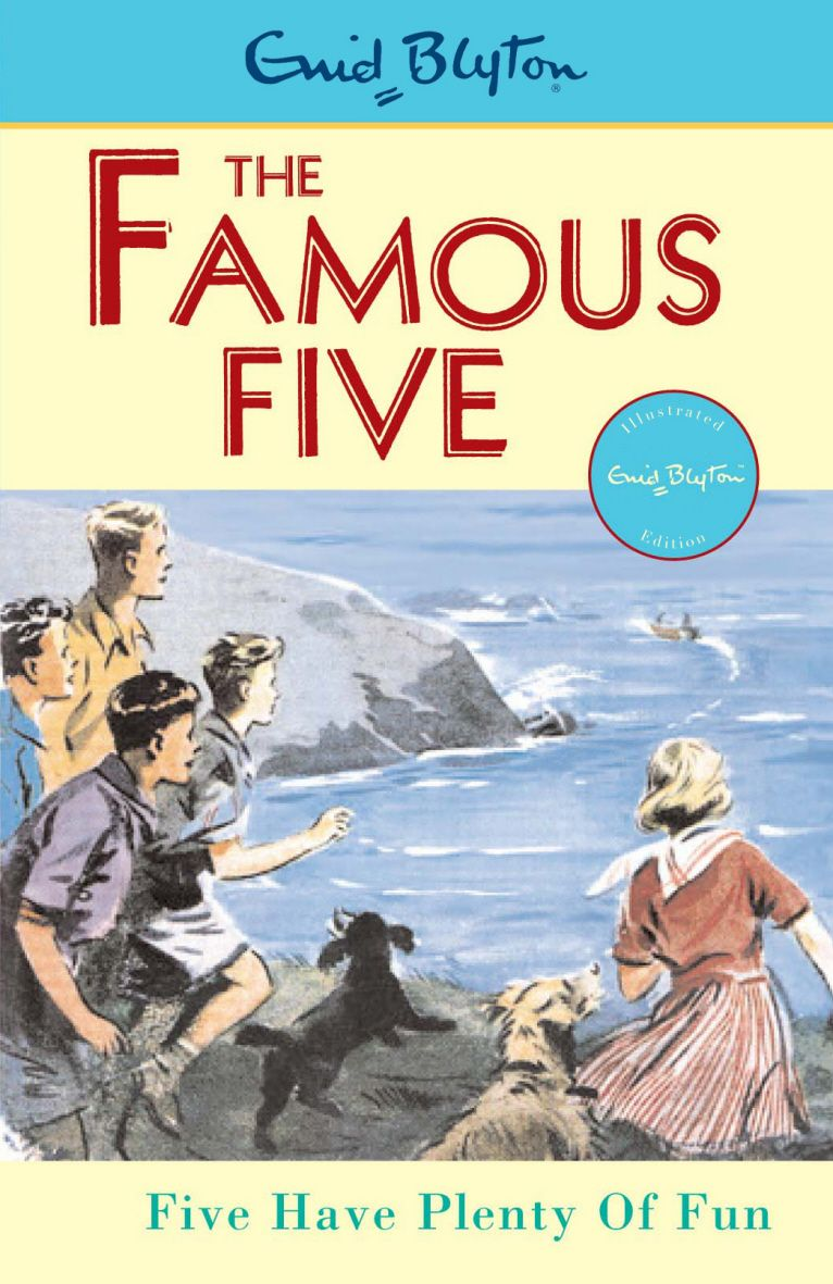 Image result for famous five enid blyton book cover