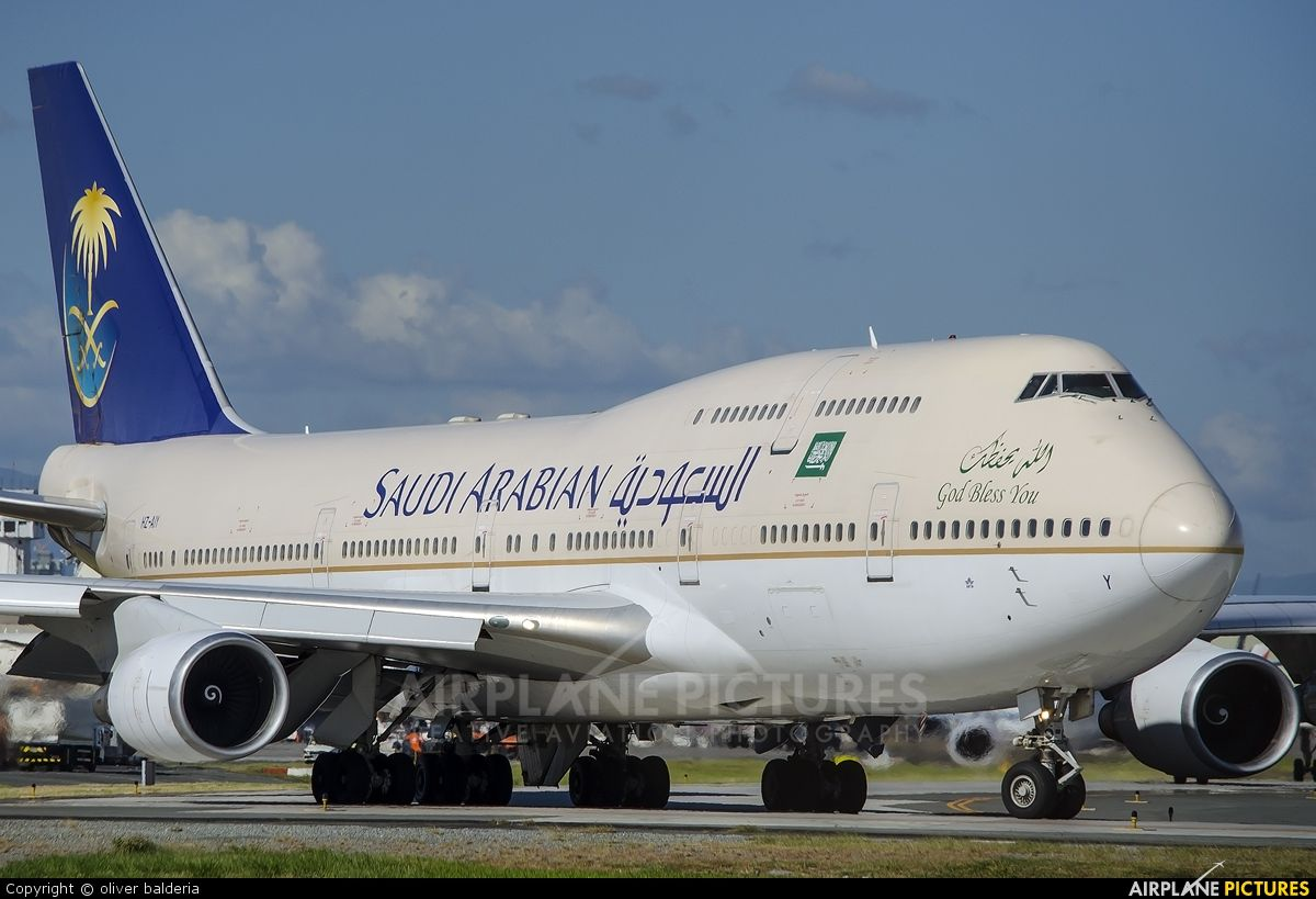 747 Airplane Picture