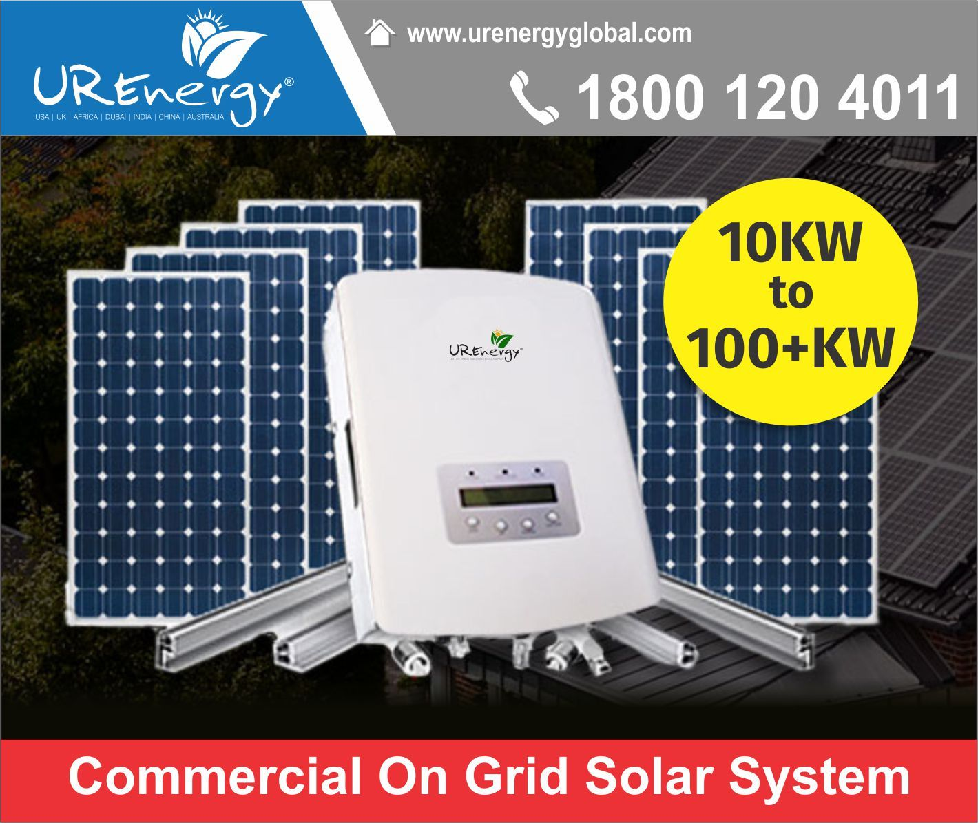 Rooftop Solar Panel Inverters Water Pump Solar Epc Gujarat India U R Energy On Grid Solar System Solar Panel System Solar