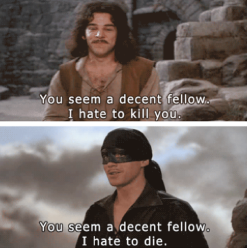 If Benedict Cumberbatch And Tom Hiddleston Got Into The Most Polite Swordfight Ever Princess Bride Funny Funny Pictures