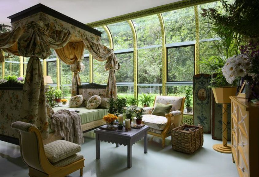 Winter Garden Ideas 10 winter gardening ideas and tips for flawless results Gorgeous Winter Garden Conservatory Bedroom By Russian Designer Kirill Istomin Co