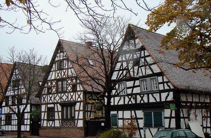 Lampertheim-Fachwerkbauten