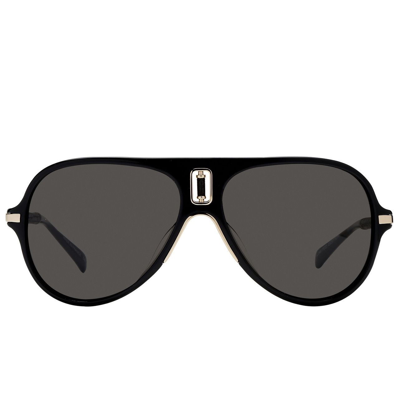 f270f4bdb206dc Balmain 'Limited Edition' acetate and metal aviator sunglasses |  CondemnedtoBeFree.com