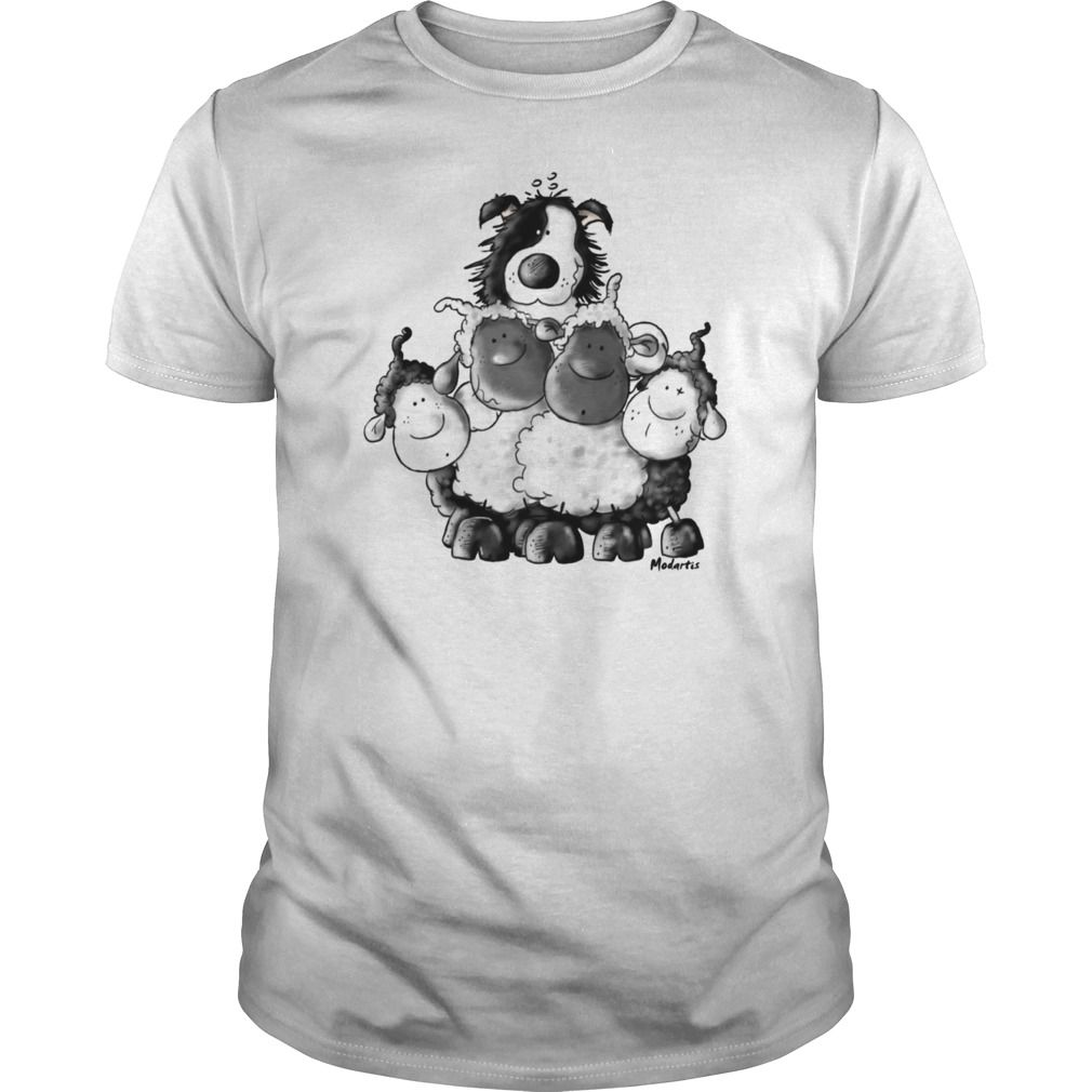 Border Collie And Sheep - Border Collie Shirt in 2020 ...
