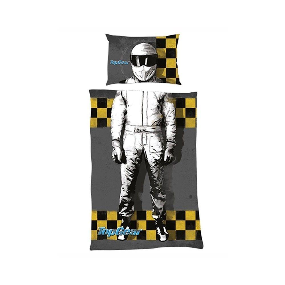 Une Parure De Lit 1 Pers Top Gear Modele I Am The Stig Retrouvez
