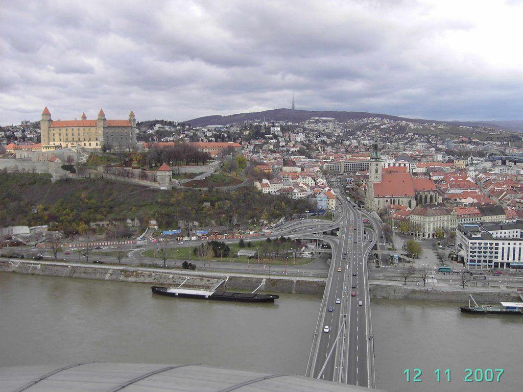 Ausblick auf Bratislava
