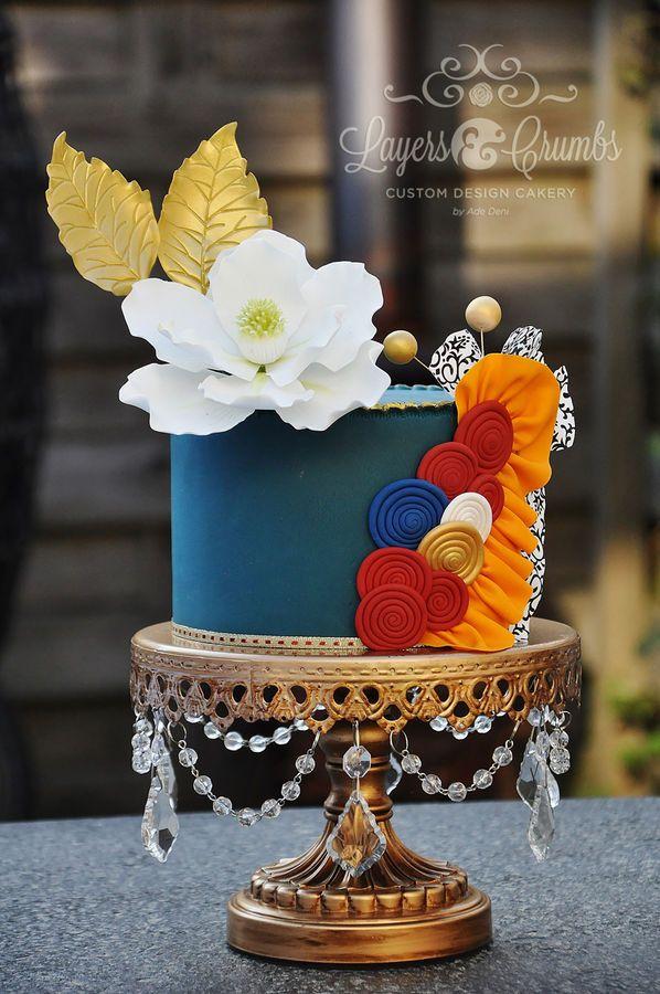 Tarta de cumpleaños - Birthday Cake - Layers & Crumbs