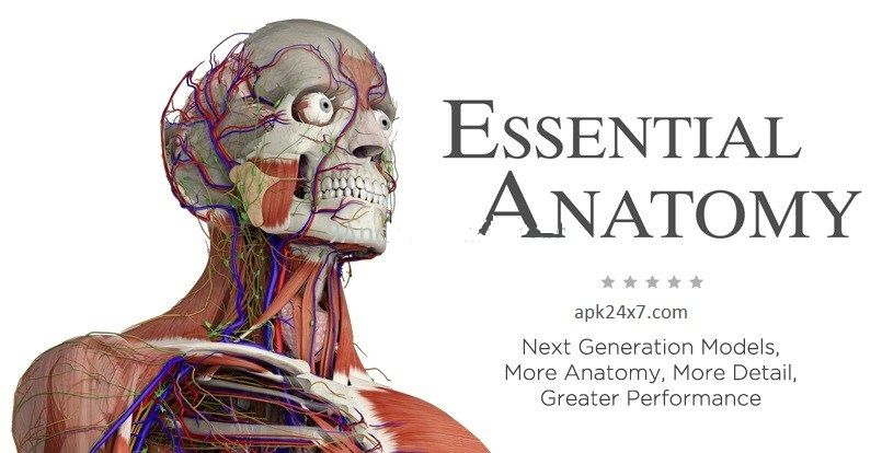 Essential Anatomy 3 v1.1.0 APK Free Download | Mobile app and Android