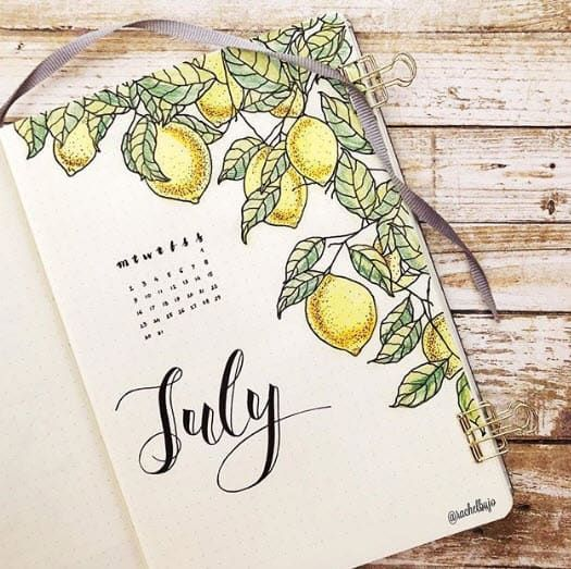 5 Ways to Use Bullet Journal Spreads to Organize Your Life #journaling