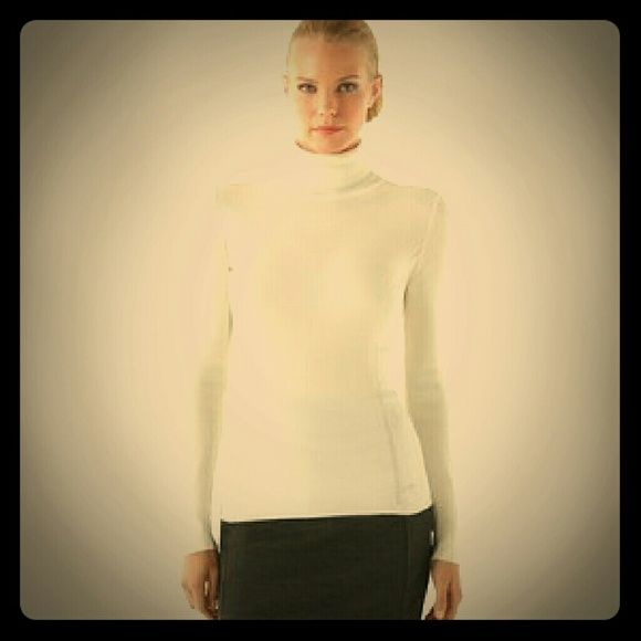 Whitehouse black market 3 button accnt Turtleneck White long-sleeved, 3 button cuff and neck Turtleneck.   It's a petite fit, adorable with jeans or slacks.   100% of sales go to a fellow Posher who was left destitute with her 3 kids. Her ex husband fled during indictment by the FBI due to committing fraud.  Ceasing child support and alimony he remains free.  Home in foreclosure and car repossessed she has to sell everything to survive.  I am joining her in her efforts and selling everything…