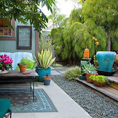 Charmant Small Backyard Landscaping Ideas, Outdoor Living Spaces