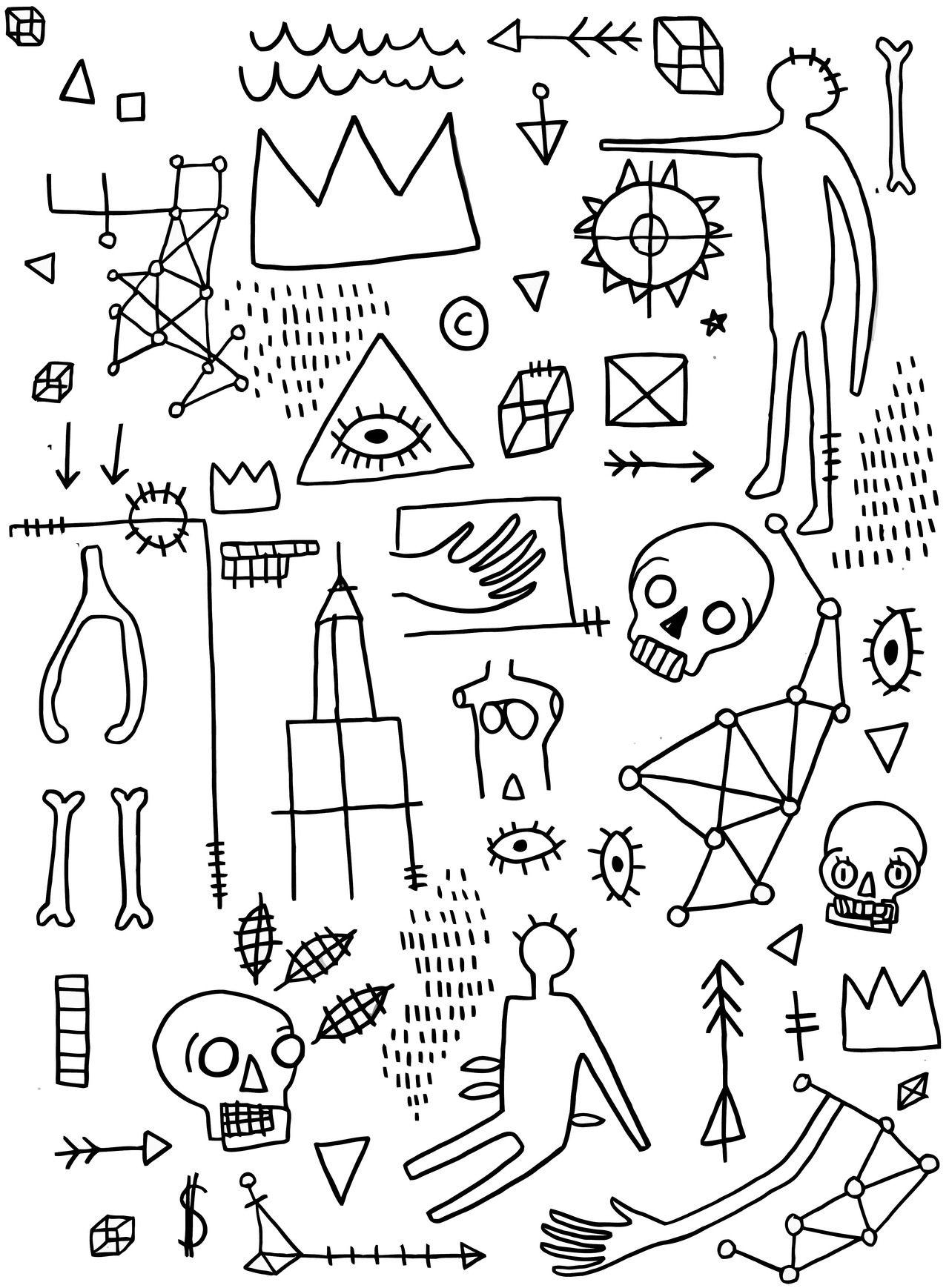 Jean Michel Basquiat In
