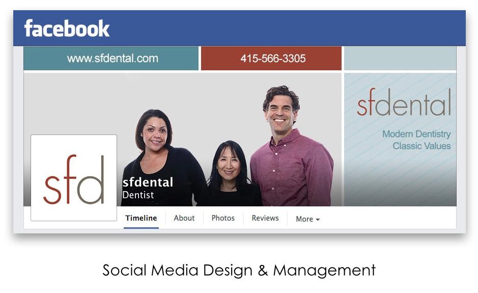Sfdental Facebook Timeline Design Zyp Graphic Design Marketing Graphic Design Marketing Timeline Design Dental Marketing
