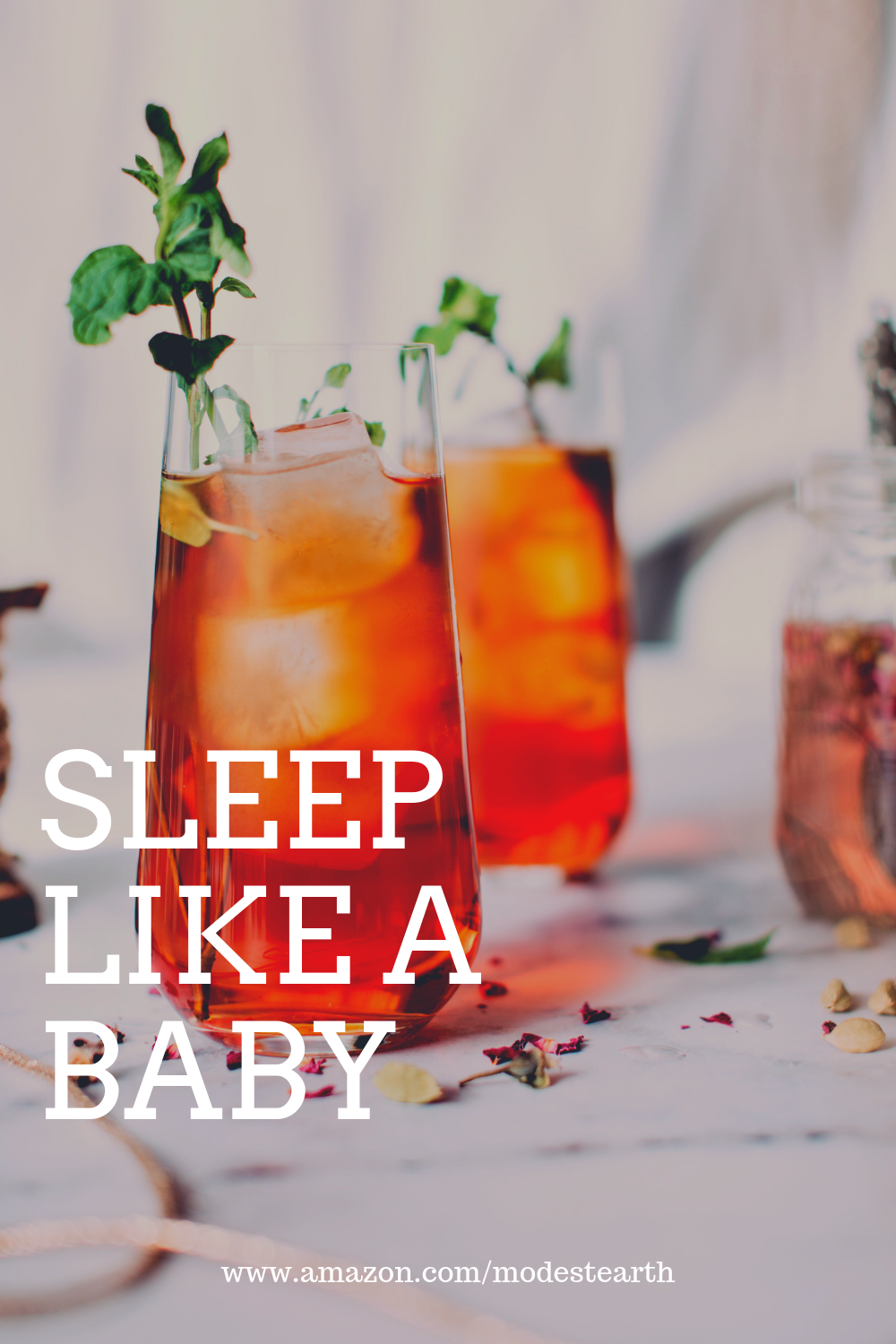 Sleep Like A Baby Our Tea Is A Mix Of Calming Herbs Valerian Hops Passionflower Chamomile A Herbalism Natural Allergy Relief Natural Remedies For Stress